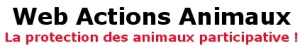Web actions animaux